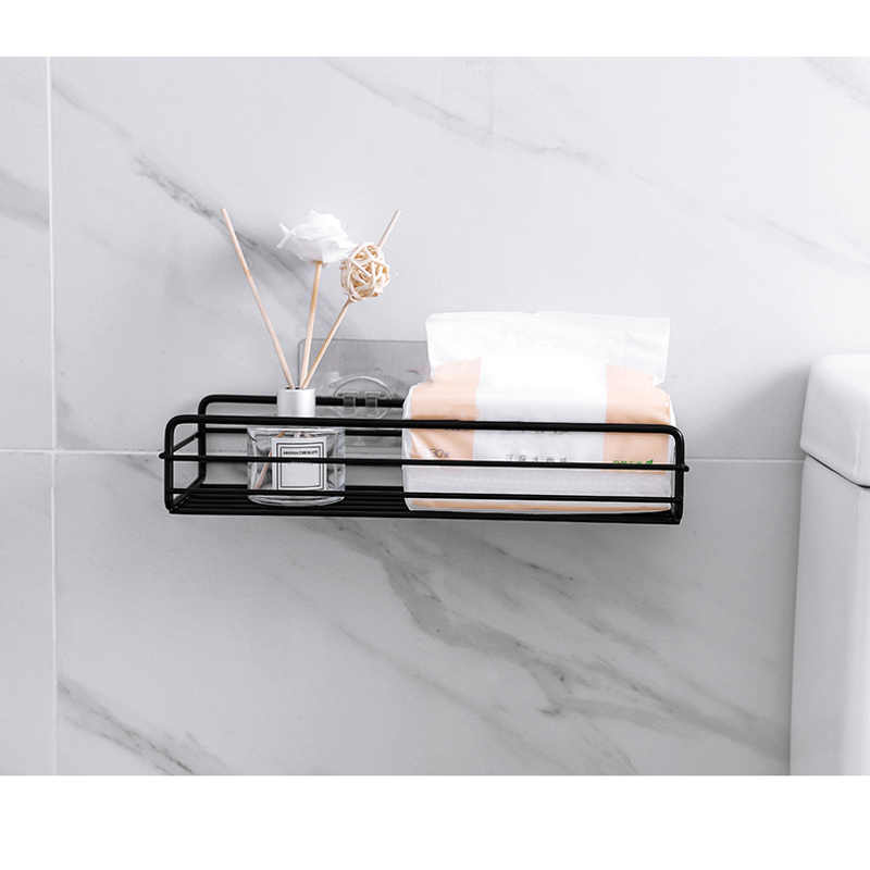 Żelazna kuchnia łazienka półka po prysznic przechowywanie kosz ssący Caddy Rack DC156