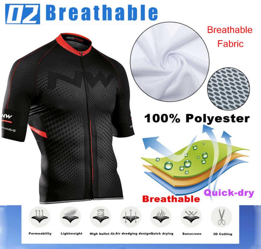 Northwave Nw letni zestaw koszulek rowerowych oddychający rower MTB odzież rowerowa odzież rowerowa górska odzież Maillot Ropa Ciclismo
