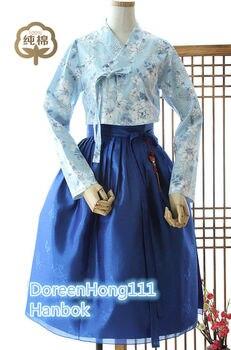 2019 Top Sale Modern hanbok Fushion Hanbok Korean Traditional Hanbok Dress Modernized hanbok Birthday Gifts