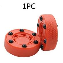 Roller Hockey-Puck Orange High-Density-Accessories Wheels Perfectly-Balance Practice