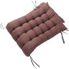 Almofada de banco de jardim ao ar livre cadeira interior almofada móveis estofados terraço móveis removível almofadas de assento 3 lugares longo cush