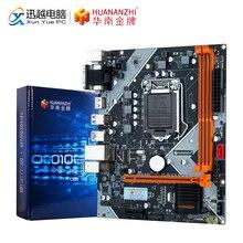 Huanzhi carte mère B75 M ATX, 16 go, processeur Intel LGA 1155, i3, i5, i7, E3 DDR3, 1333/1600MHz, sata 3.0, usb 3.0, PCI E, VGA et HDMI