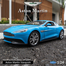 WELLY 1:24 Aston Martin car alloy model simulation decoration collection gift toy Die casting boy