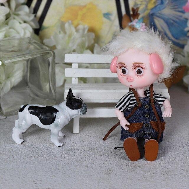 Dream Fairy 1/12 BJD DODO Doll 14cm mini doll 26 joint body Cute children gift toy ob11 5