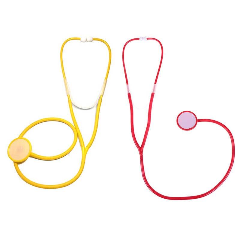 Venda quente médico enfermeira jogar estetoscópio brinquedos para crianças crianças kit médico bebê educativo fingir jogar brinquedo clássico presente