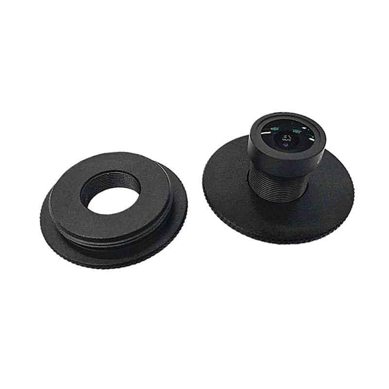 الأسود المعادن M12 إلى C/CS جبل عدسات واسعة النطاق تحويل محول الدائري ل العهد سوني CCD TVI السيدا مربع كاميرا دعم اكسسوارات