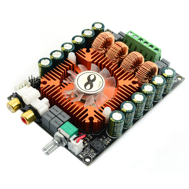 TDA7498E High Power Digital Power Amplifier Board 2.0 HIFI Stereo 160W*2 Support BTL220W DC12V-36V