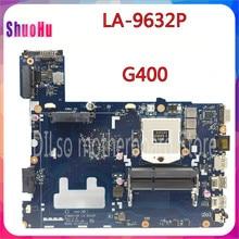 KEFU LA-9632P для Lenovo G400 материнская плата для ноутбуков портативных ПК HM70 (для Pentium Процессор только) Материнская плата Тест DDR3 HM76