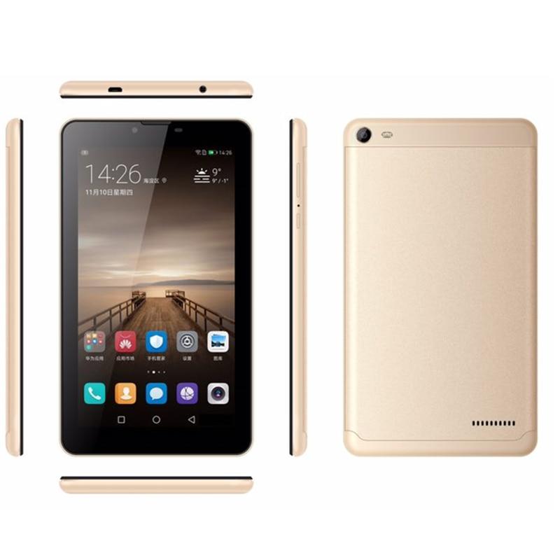 7 pouces MTK8321 D'android de noyau de Quadruple 6.0 Double emplacements SIM 3G téléphone Tablette PC