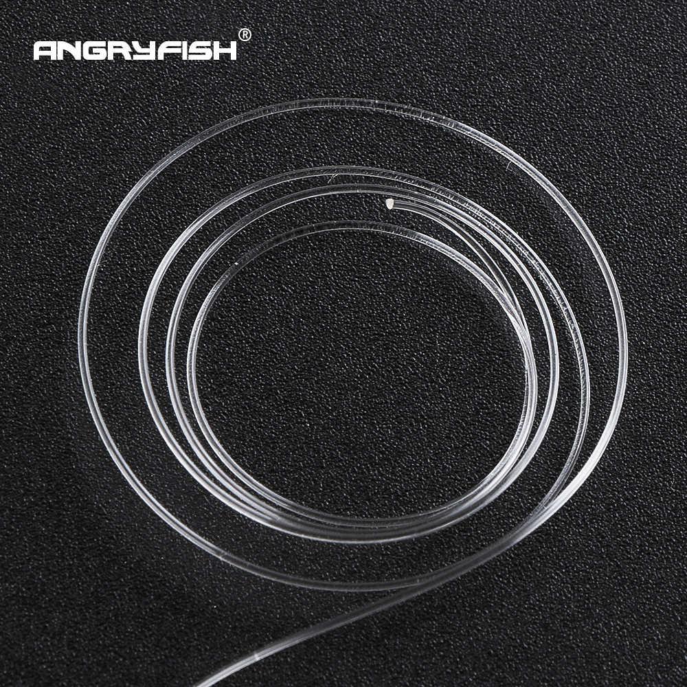 Angryfish 100% żyłka wędkarska fluorowęglowa 100m przezroczysta karbonowa żyłka monofilamentowa Super silny darmowa wysyłka