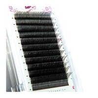 Einfach Graft Faux Nerz Y Form Volumen Wimpern Verlängerung 8-13 Mixed Länge Individuelle YY Falsche Wimpern W Weben lash Make-Up Werkzeuge