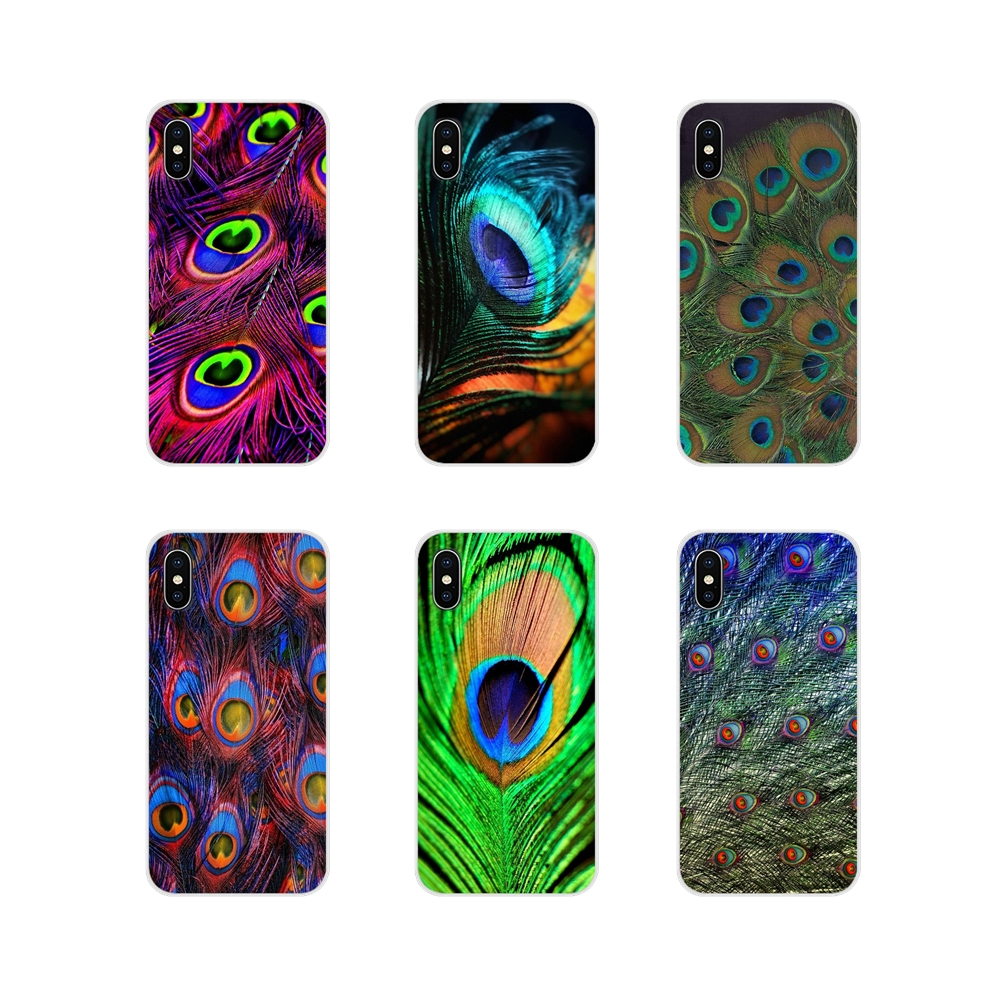 For Samsung Galaxy A3 A5 A7 A9 A8 Star A6 Plus 2018 2015 2016 2017 Beautiful Peacock feathers Accessories Phone Cases Covers