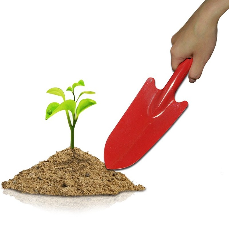 Small Garden Shovel Flower Vegetables Planting Soil Loosening Spade Seedling Transplant Weeding Trowel Gardening Bonsai Tools
