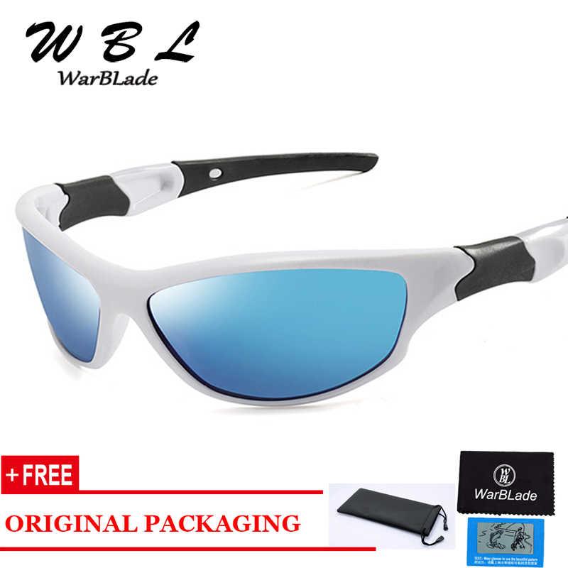 WarBLade للرؤية الليلية النظارات الشمسية الرجال النساء نظارات نظارات UV400 نظارات شمسية عدسات صفراء اللون الاستقطاب ليلة القيادة 2019 الساخن