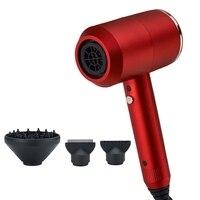 Secador de pelo iónico negativo 3 en 1  herramientas de estilismo multifuncionales  secador de pelo rápido y recto  estilizador de aire caliente