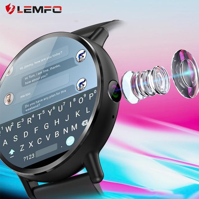 LEMFO LEM X Android 7.1 4G 2.03 Inch 900Mah 8MP Camera Waterproof Luxury Smart Watch Sport GPS Watch Smartwatch For Men 1