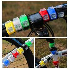 1 pcs Wholesale Silicone Bike Bicycle Cycling Head Front Rear Wheel LED Strobe Taillight Flash Light Lamp Hot Selling ARE4 New(China)