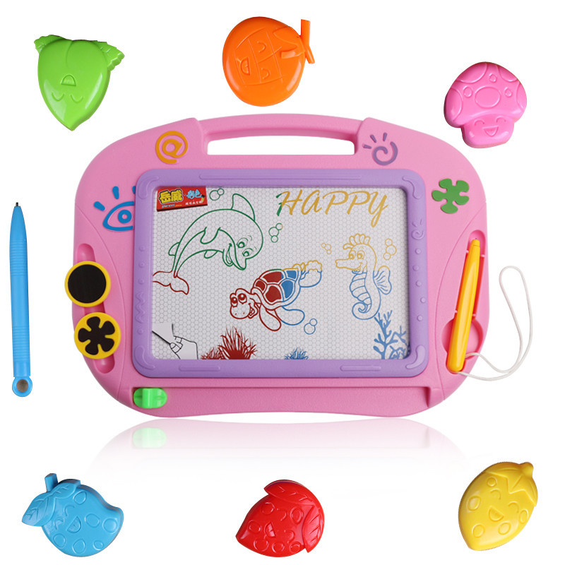 CHILDREN'S Drawing Board Large Size Drawing Board Baby Color Magnetic Small Drawing Board Doodle Board Magnetic Drawing Board CH