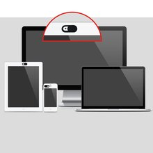 3шт/комплект овальной формы веб-камера крышка затвора Магнит слайдер пластиковые камеры чехол для ноутбука для планшетных ПК конфиденциальности