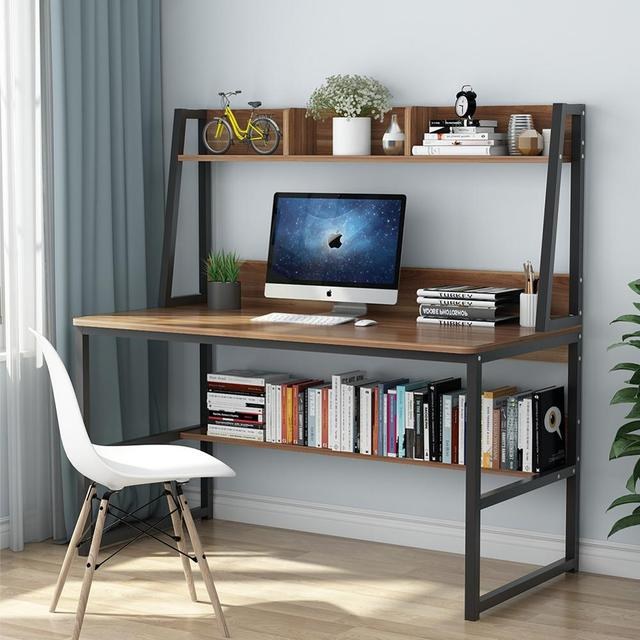 Computer Desk with Hutch 1