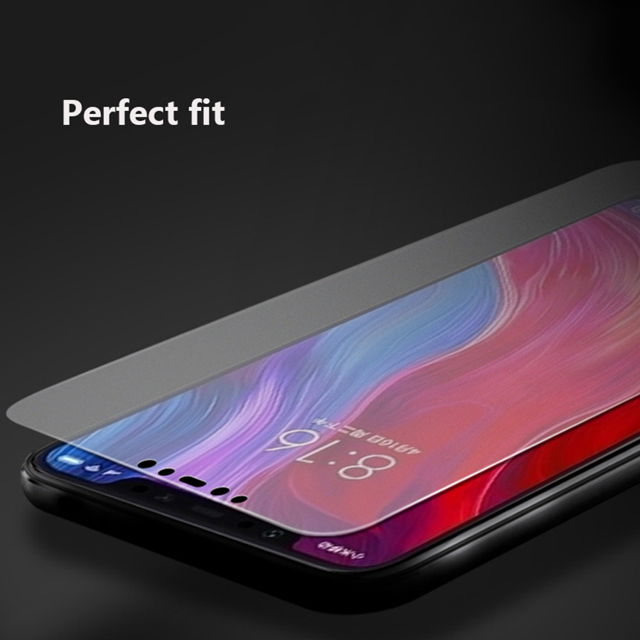 Image 2 - No fingerprint Matte Glass for Xiaomi Pocophone F1 A3 9T CC9 Screen Protector Frosted Tempered Glass for Redmi K20 Note 7 8 Pro-in Phone Screen Protectors from Cellphones & Telecommunications