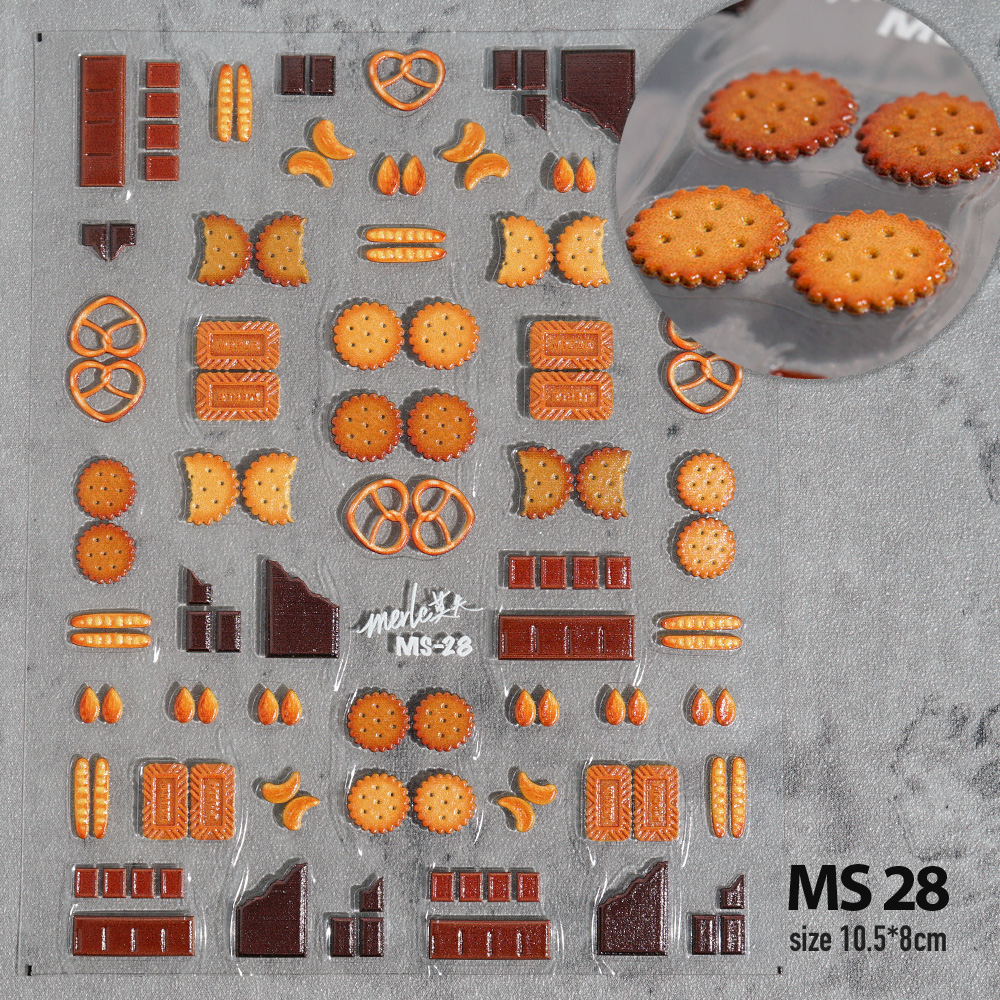 Наклейки для ногтей в виде фруктов, наклейки для ногтей с 3D гравировкой, высококачественные украшения для ногтей, наклейки для ногтей, дизайн|Стикеры и наклейки|   | АлиЭкспресс