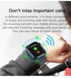 Image 2 - F20 Smart Watch Bluetooth Gọi Theo Dõi Đồng Hồ Đo Nhịp Tim Phát Hiện Nhiệt Độ PK IWO 8 12 F10 W68 W34