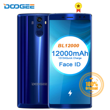 DOOGEE BL12000 Smartphone 12000mAh Fast charge 6.0'' 18:9 FHD Display MTK6750T Octa Core 4GB 32GB 16MP Camera Android 7.1 Phones doogee f7 3gb 32gb deca core smartphone black