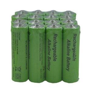 Image 5 - Alta Efficienza e Bassa Auto Scarica di Energia 1.5V LR6 AA Ricaricabile Batteria Alcalina per il Giocattolo Della Macchina Fotografica Shavermice