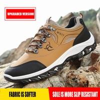 Hiking Shoes Men Outdoor Mountain Climbing Shoes Lightweight Trekking Sport Sneakers Male Hiking Boots Waterproof walking Shoes