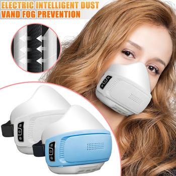Maski filtrujące elektryczne oczyszczanie powietrza Respirator maski dla dorosłych dzieci maski do recyklingu maski ochronne wielokrotnego użytku maski przeciwpyłowe # S5 tanie i dobre opinie CN (pochodzenie) Poliester