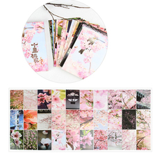Flower Postcard Greeting-Gifts Stationery 30-Sheets/Set Writing Cute Creative