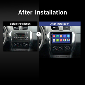 Image 4 - Seicane Car Radio For 2006 2012 Suzuki SX4 Android 9.0 9 Inch 2Din HD Touchscreen GPS Multimedia Player Support Bluetooth WIFI