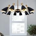 Delightfull duke скандинавский золотой черный светодиодный подвесной светильник, современный стильный Креативный фойе, гостиная, столовая, подвес...