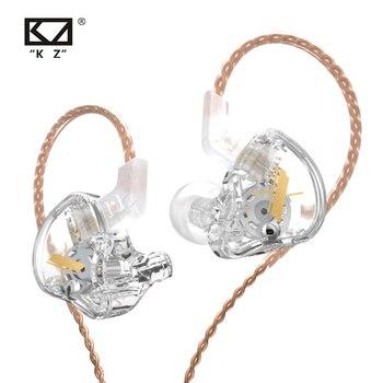 KZ EDX 1DD Dynamic Earphones HIFI Bass Earbuds In Ear Monitor Earphones Sport Noise Cancelling Headset KZ ZST X ED12 ZSX ZSN PRO 1