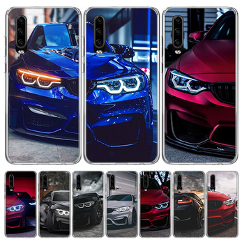Hot Blue Red for Bmw Phone Case for Huawei P40 P30 P20 Mate 30 20 10 Pro P10 Lite P Smart Z + 2019 Gift Coque Cover Capa image