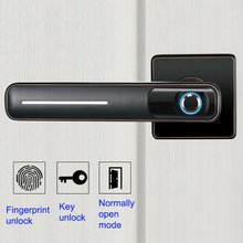 Semiconductor Biometric Fingerprint Lock Smart Electronic With Keys Sensitive Home Anti Theft Door Security Stainless Steel biometric electronic smart door lock fingerprint keyless code lock smart with 4 cards 2 mechanical keys for entry office home