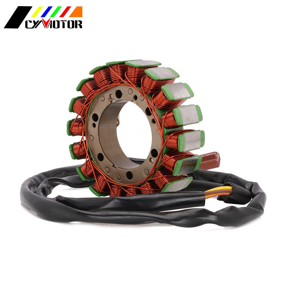Motorcycle Magneto Engine Stator Generator Alternator Charging Coil Parts For Aprilia ETV1000 CAPONORD ABS 01-09 RSV 1000R image