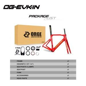 Image 5 - OG EVKIN CF 017คาร์บอนจักรยานกรอบUD BB386 Glossyจักรยานคาร์บอนกรอบแผนที่Di2และกลไกเฟรม
