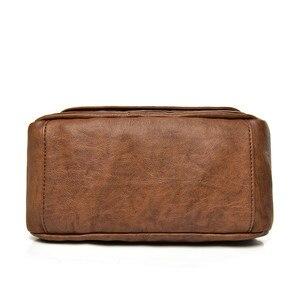 Image 4 - Duas tampas das mulheres do vintage saco de 2019 bolsas de luxo mulheres sacos designer de couro Macio feminino Saco pequeno mensageiro Bolsa de Ombro Aba