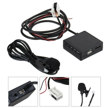 12V Car Bluetooth 5.0 Stereo Aux Adaptor Bluetooth Module Cable Handfree Microph