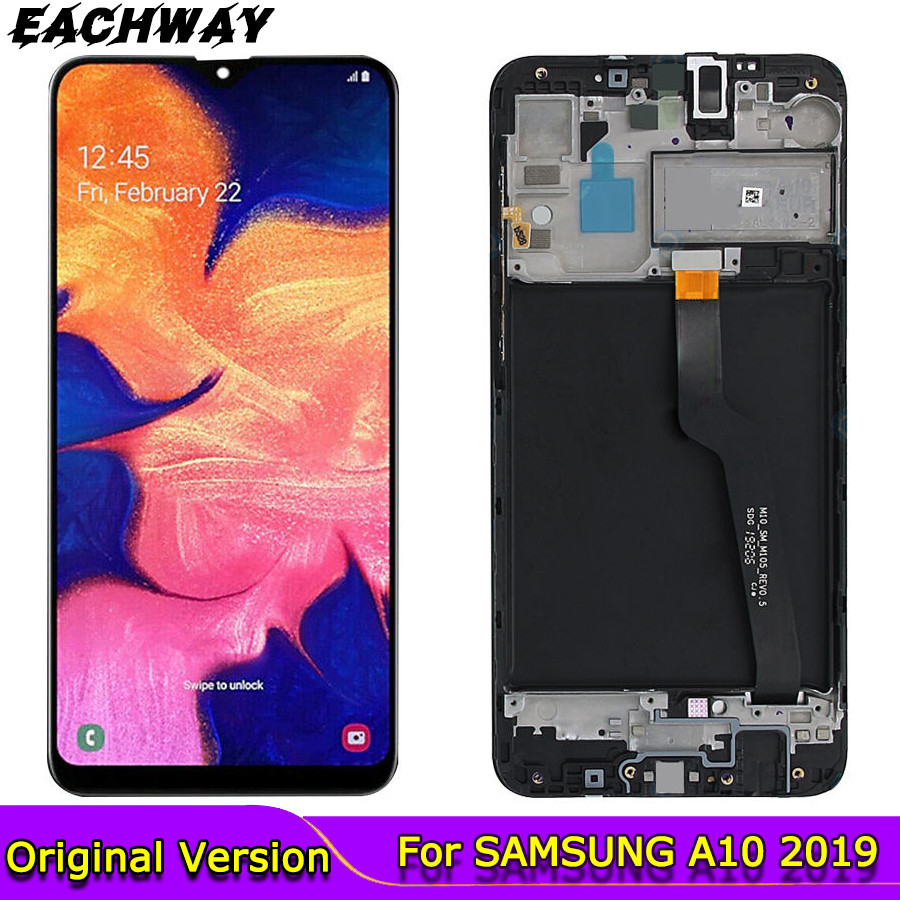 ORIGINAL 6.22'' <font><b>LCD</b></font> for <font><b>SAMSUNG</b></font> Galaxy <font><b>A10</b></font> 2019 Display Touch <font><b>Screen</b></font> Digitizer Assembly SM-A105 A105F A105G <font><b>LCD</b></font> For <font><b>SAMSUNG</b></font> <font><b>A10</b></font> image