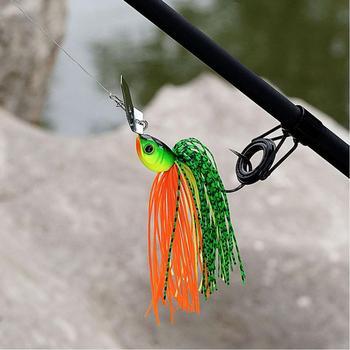 Original Micro Chatterbait 14g Chatter Bait Fishing Lure  Pike Bass Fishing Lure Buzz Bait Buzzbait