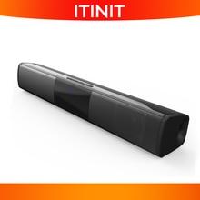 ITINIT Y6 20W 블루투스 스피커 홈 서라운드 시스템 사운드바 스테레오 유선 및 무선 PC 극장 TV 스피커 서브 우퍼, 컴퓨터 스피커