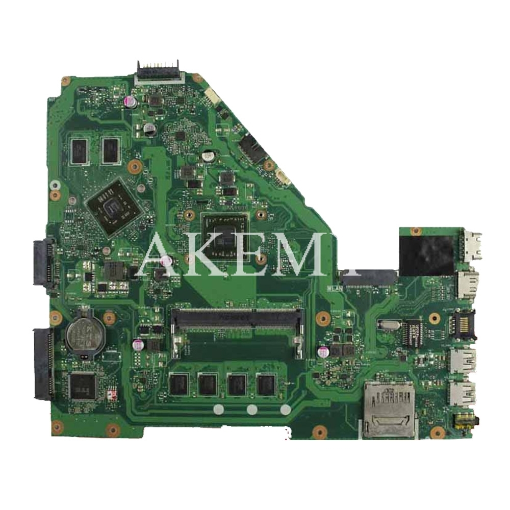 Image 2 - X550EP Motherboard E2 6100 CPU 4GB RAM For ASUS X550E X550EP  X550E D552E X552E Laptop motherboard X550EP Mainboard test 100%  OKMotherboards