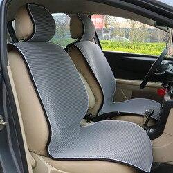 1 قطعة شبكة تنفس مقعد السيارة يغطي وسادة صالح لمعظم السيارات/الصيف مقاعد باردة وسادة الفاخرة العالمي حجم وسادة السيارة