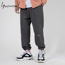 купить Yasword Men Sweatpants Sports Pants Cargo Pants Letter Print Man Trousers Sportswear Original Loose Comfortable Soft Drawstring по цене 1569.66 рублей