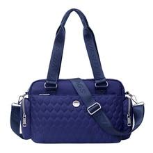 Женская сумка через плечо с верхней ручкой, дизайнерские сумки, нейлоновые женские сумки мессенджеры, повседневная сумка тоут, Bolsas Sac, Основная сумка через плечо