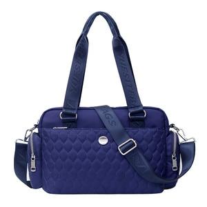 Image 1 - Women Top handle Shoulder Bag Designer Handbags Nylon Female Messenger Bags Casual Shopping Tote Bolsas Sac A Main Crossbody Bag