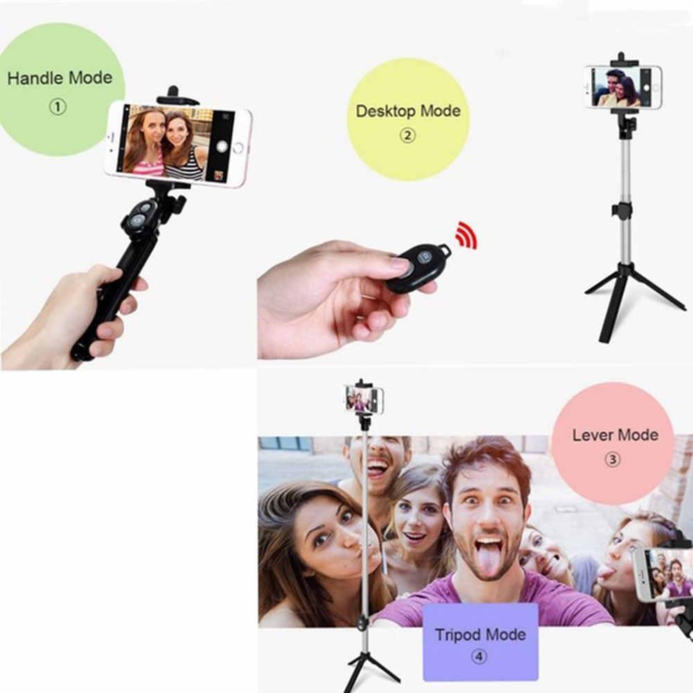 KISSCASE Bluetooth Беспроводная селфи палка для iPhone 7 8 X samsung S9 пульт дистанционного управления с кнопкой камеры штатив монопод для huawei Xiaomi